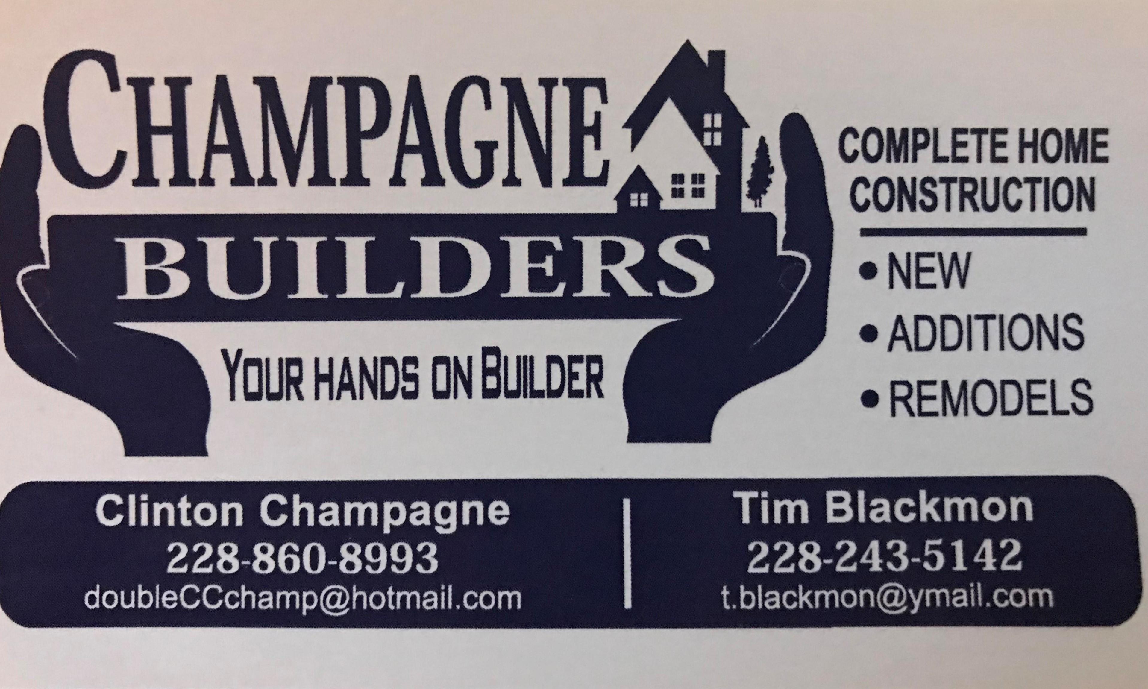 Champagne Builders - Contractors - 8905 Mermaid Avenue Ocean Springs