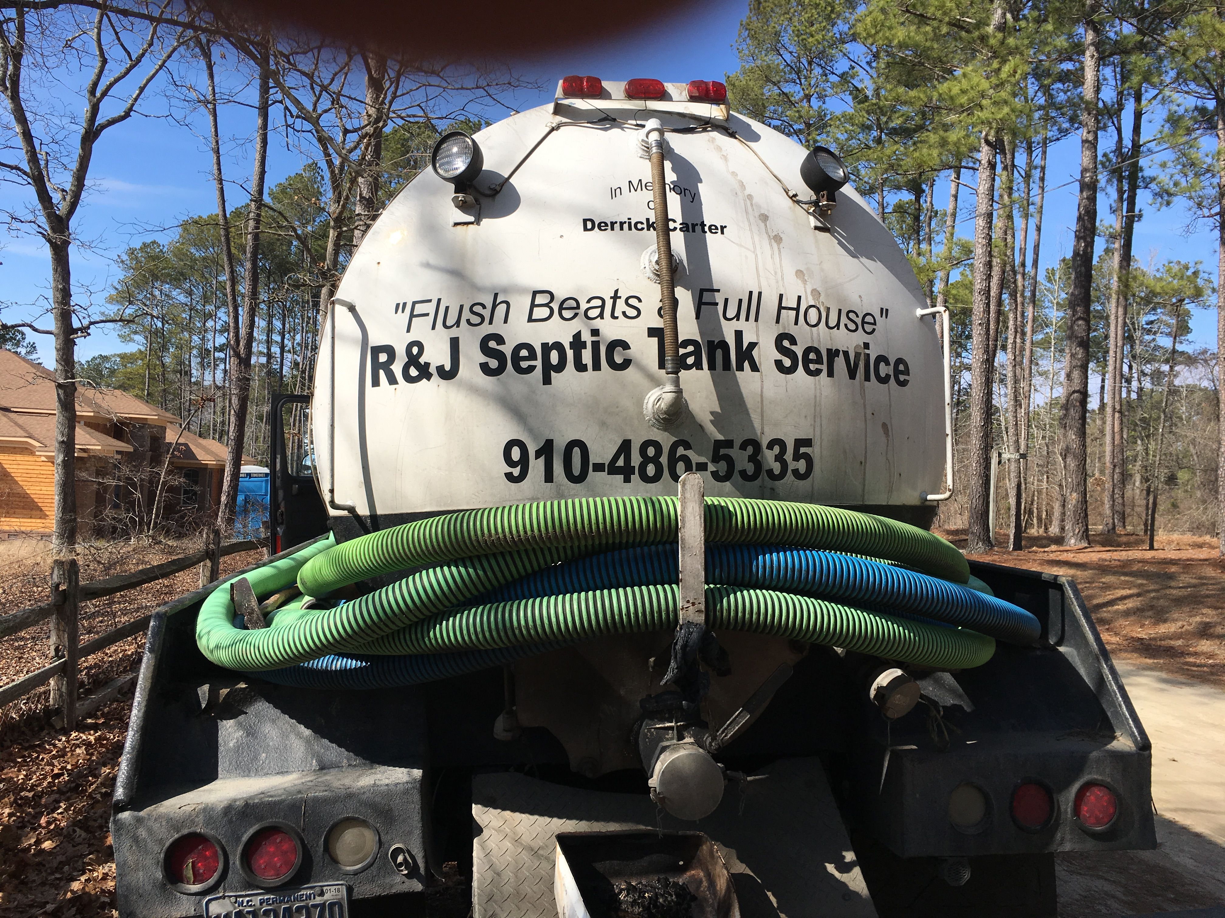 R & J Septic Tank Services - Septic Services - 600 Bladen