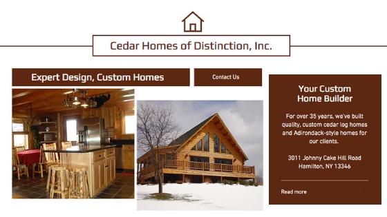 Katahdin Cedar Log Homes Certified Dealer