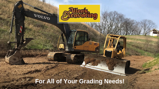 Excavating, Haul Gravel, Hydro-seeding, Custom House Sights, Ponds, Grading, Home Sights
