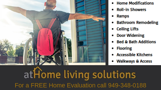 Full Home Modification, Elevator, Door Widening, Residential Contractor, ADA Home Modifications, Roll In Showers, Walk In Bathtubs, Platform Lifts, Stair Lifts, Ceiling Lift Systems, Handicap Accessible