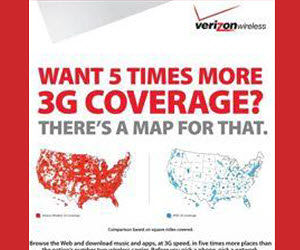 Have more coverage with Verizon Wireless