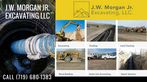 Excavating, Grading, Land Clearing, Driveways, Hydro-Vac Excavating, Septic Systems, Dams & Reservoirs