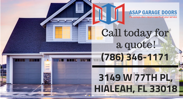 Asap garage doors, Service, Quick service, Residential, Commercial, Truck Doors, Dock Lever Repairs, Gate Openers