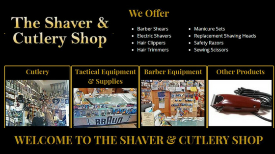 barber shop supplies, knife sharpening, knives