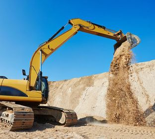 Dirt Construction , Sand & Gravel excavation , Trucking , Terrance's