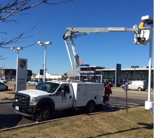 Commercial Electrical Contractor, Pole Lighting, New Installation, Design Build