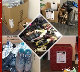 Toshiba partnered with Soles 4 Souls and employees around the globe donated new and used footwear