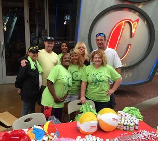 TBS employees help raise funds at the Kentucky Kids Therapy Walk.