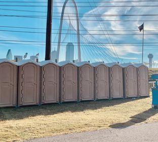 DFW Toilets - New Portable Toilets